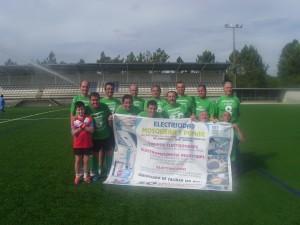 Patrocinio equipo de futbol temporada 2012-2013