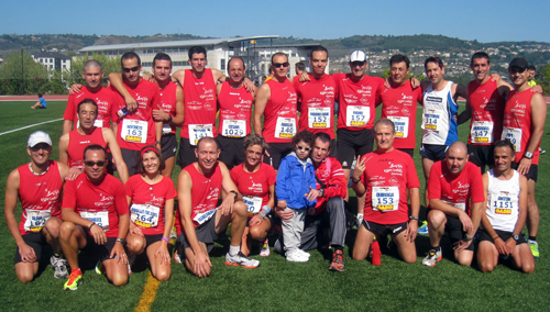 Patrocinio club Atletismo ESPRINTES OURENSE